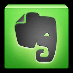 """""""Зеленый слоник"""" - фирменный значек Эвернота"""
